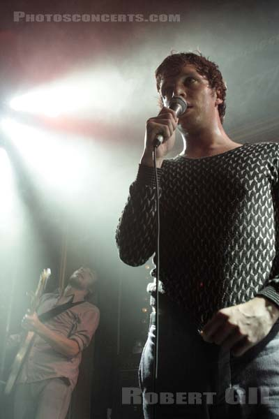 FRIENDLY FIRES - 2008-09-04 - PARIS - La Fleche d'Or